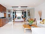 プーケット スリンビーチのホテル : ザ クウォーター プーケット リゾート(The Quarter Phuket Resort)のコージー デラックスルームの設備 Bedroom