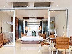 プーケット スリンビーチのホテル : ザ クウォーター プーケット リゾート(1)のお部屋「コージー デラックス」