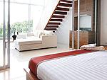 プーケット スリンビーチのホテル : ザ クウォーター プーケット リゾート(The Quarter Phuket Resort)のコージー グランドルームの設備 Bedroom