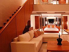 プーケット スリンビーチのホテル : ザ クウォーター プーケット リゾート(1)のお部屋「コージー グランド」