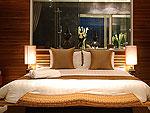 プーケット スリンビーチのホテル : ザ クウォーター プーケット リゾート(The Quarter Phuket Resort)のラグジュアリー プール ペントハウスルームの設備 Bedroom