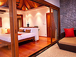 プーケット スリンビーチのホテル : ザ クウォーター プーケット リゾート(The Quarter Phuket Resort)のサンクチュアリ ロイヤル スイートルームの設備 Bedroom