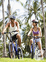 Mountain Biking : The Racha, Beach Front, Phuket