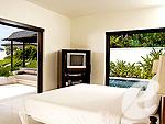 プーケット 10,000~20,000円のホテル : ザ ラチャ(The Racha)のグランド デラックス プール ヴィラルームの設備 Bedroom