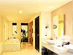 プーケット その他・離島のホテル : ザ ラチャ(The Racha)のスパ プール スイートルームの設備 Bath Room