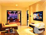 プーケット その他・離島のホテル : ザ ラチャ(The Racha)の2ベッドルーム グランド プール スイートルームの設備 Living Room
