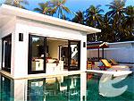 プーケット その他・離島のホテル : ザ ラチャ(The Racha)の2ベッドルーム グランド プール スイートルームの設備 Private Pool