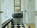バンコク シーロム・サトーン周辺のホテル : ザ ラヤ スラウォング バンコク(The Raya Surawong Bangkok)のエグジクティブ スイート ダブルルームの設備 Bathroom