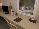 バンコク シーロム・サトーン周辺のホテル : ザ ラヤ スラウォング バンコク(The Raya Surawong Bangkok)のスーペリア ダブルルームの設備 Room View