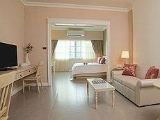バンコク シーロム・サトーン周辺のホテル : ザ ラヤ スラウォング バンコク(The Raya Surawong Bangkok)のお部屋「グランド デラックス ダブル」