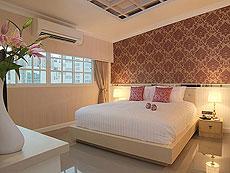 バンコク シーロム・サトーン周辺のホテル : ザ ラヤ スラウォング バンコク(The Raya Surawong Bangkok)のお部屋「スイート ダブル」