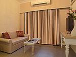 バンコク シーロム・サトーン周辺のホテル : ザ ラヤ スラウォング バンコク(The Raya Surawong Bangkok)のエグゼクティブ スイート シングルルームの設備 Room View