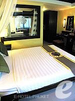 プーケット パトンビーチのホテル : ザ ロイヤル パーム ビーチフロント(The Royal Palm Beach Front)のスーペリアルームの設備 Bedroom
