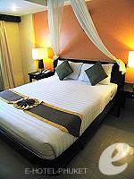 プーケット パトンビーチのホテル : ザ ロイヤル パーム ビーチフロント(The Royal Palm Beach Front)のスーペリア(ツイン/ダブル)ルームの設備 Bedroom