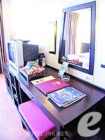プーケット パトンビーチのホテル : ザ ロイヤル パーム ビーチフロント(The Royal Palm Beach Front)のデラックス (ツイン/ダブル)ルームの設備 Bath Room