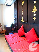 プーケット パトンビーチのホテル : ザ ロイヤル パーム ビーチフロント(The Royal Palm Beach Front)のスイートルームの設備 Room facilities