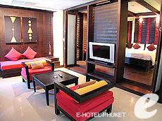 プーケット パトンビーチのホテル : ザ ロイヤル パーム ビーチフロント(1)のお部屋「スイート」