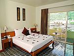 プーケット ファミリー&グループのホテル : ザ ロイヤル パラダイス ホテル & スパ(The Royal Paradise Hotel & Spa)のロイヤル スイートルームの設備 Bedroom