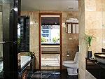 プーケット ファミリー&グループのホテル : ザ ロイヤル パラダイス ホテル & スパ(The Royal Paradise Hotel & Spa)のロイヤル エグゼクティブ スイートルームの設備 Bath Room