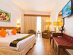 プーケット スパ併設のホテル : ザ ロイヤル パラダイス ホテル & スパ(The Royal Paradise Hotel & Spa)のパラダイス スーパー スーペリア (ツイン)ルームの設備 Bedroom