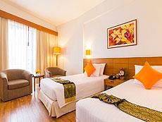 プーケット ファミリー&グループのホテル : ザ ロイヤル パラダイス ホテル & スパ(1)のお部屋「パラダイス スーパー スーペリア (ツイン)」