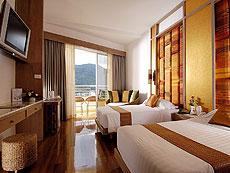 プーケット ファミリー&グループのホテル : ザ ロイヤル パラダイス ホテル & スパ(1)のお部屋「パラダイス デラックス(ツイン)」