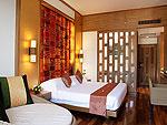プーケット ファミリー&グループのホテル : ザ ロイヤル パラダイス ホテル & スパ(The Royal Paradise Hotel & Spa)のプレミア デラックスルームの設備 Bedroom