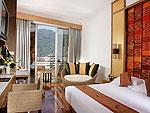 プーケット スパ併設のホテル : ザ ロイヤル パラダイス ホテル & スパ(The Royal Paradise Hotel & Spa)のプレミア デラックスルームの設備 Bedroom
