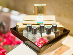 プーケット ファミリー&グループのホテル : ザ ロイヤル パラダイス ホテル & スパ(The Royal Paradise Hotel & Spa)のロイヤル スーペリア(シングル)ルームの設備 Bath Amenities