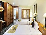 プーケット スパ併設のホテル : ザ ロイヤル パラダイス ホテル & スパ(The Royal Paradise Hotel & Spa)のロイヤル スーペリア(ツイン)ルームの設備 Bedroom