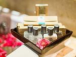 プーケット ファミリー&グループのホテル : ザ ロイヤル パラダイス ホテル & スパ(The Royal Paradise Hotel & Spa)のロイヤル スーペリア(ツイン)ルームの設備 Bath Amenities