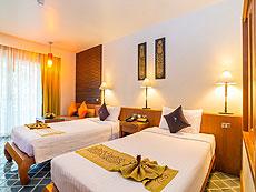 プーケット ファミリー&グループのホテル : ザ ロイヤル パラダイス ホテル & スパ(1)のお部屋「ロイヤル スーペリア(ツイン)」
