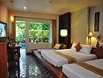 プーケット スパ併設のホテル : ザ ロイヤル パラダイス ホテル & スパ(The Royal Paradise Hotel & Spa)のロイヤル デラックス(シングル)ルームの設備 Bedroom