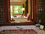 プーケット ファミリー&グループのホテル : ザ ロイヤル パラダイス ホテル & スパ(The Royal Paradise Hotel & Spa)のロイヤル デラックス(シングル)ルームの設備 Bath Room