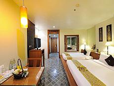 プーケット ファミリー&グループのホテル : ザ ロイヤル パラダイス ホテル & スパ(1)のお部屋「ロイヤル デラックス(シングル)」