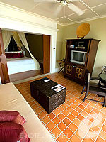 プーケット その他・離島のホテル : ザ ナイハーン(The Nai Harn)のオーシャンフロント ジュニア スイートルームの設備 Room View