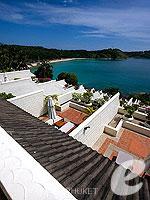 プーケット オーシャンビューのホテル : ザ ナイハーン(The Nai Harn)のオーシャンフロント ジュニア スイートルームの設備 Balcony