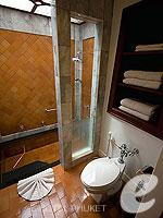 プーケット その他・離島のホテル : ザ ナイハーン(The Nai Harn)のオーシャンフロント ジュニア スイートルームの設備 Bath Room