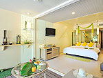 プーケット スパ併設のホテル : ザ サンズ カオ ラック(The Sands Khao Lak)のサンズルームの設備 Room View