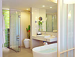 Bath Room : Seaside Junior Suite at The Sands Khao Lak, Free Wifi, Phuket