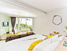 プーケット スパ併設のホテル : ザ サンズ カオ ラック(1)のお部屋「シーサイド ジュニア スイート」