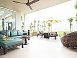 プーケット スパ併設のホテル : ザ サンズ カオ ラック(The Sands Khao Lak)のワンベッドルーム シー スイートルームの設備 Room View
