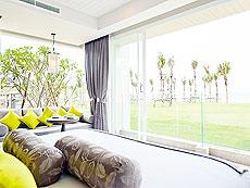 プーケット スパ併設のホテル : ザ サンズ カオ ラック(1)のお部屋「ワンベッドルーム シー スイート」