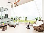 プーケット スパ併設のホテル : ザ サンズ カオ ラック(The Sands Khao Lak)のツーベッドルーム シー スイートルームの設備 Room View