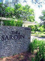 Entrance : The Sarojin, Promotion, Phuket