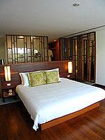 プーケット ビーチフロントのホテル : ザ サロジン(The Sarojin)のガーデン レジデンスルームの設備 Bedroom