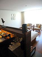プーケット カオラックのホテル : ザ サロジン(The Sarojin)のガーデン レジデンスルームの設備 Bedroom
