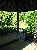 プーケット カオラックのホテル : ザ サロジン(The Sarojin)のガーデン レジデンスルームの設備 Terrace