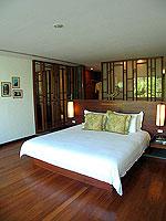 プーケット ビーチフロントのホテル : ザ サロジン(The Sarojin)のプール レジデンスルームの設備 Bedroom