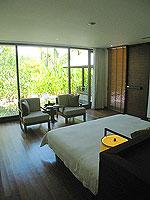 プーケット カオラックのホテル : ザ サロジン(The Sarojin)のプール レジデンスルームの設備 Bedroom